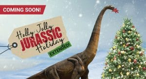 Holly Jolly Jurassic Holiday