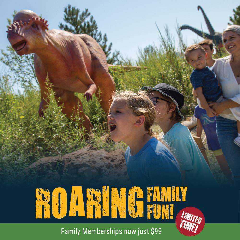 Field Station: Dinosaurs - A dinosaur adventure park in
