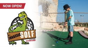 Now Open: Jurassic Golf